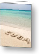 Vacation Destination Greeting Cards - Cuban beach. Greeting Card by Fernando Barozza