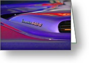 Violet Greeting Cards - Cuda 440-6 Greeting Card by Gordon Dean II
