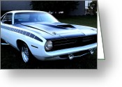 Barracuda Greeting Cards - Cuda Greeting Card by Scott Hovind