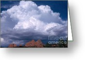 Rain Storms Greeting Cards - Cumulonimbus Cloud Greeting Card by Science Source