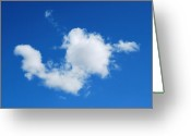Cumulus Cloud Greeting Cards - Cumulus Greeting Card by Marilynne Bull