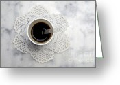 Cup Photo Greeting Cards - Cup Greeting Card by Bernard Jaubert