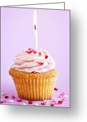 Desserts Greeting Cards - Cupcake Greeting Card by Elena Elisseeva