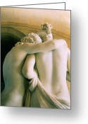 Psyche Photo Greeting Cards - CUPID and PSYCHE Greeting Card by JAMART Photography