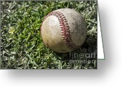 Baseball Game Greeting Cards - Cure For Spring Fever Greeting Card by Gwyn Newcombe