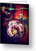 Dana Oliver Greeting Cards - Curved Fan Greeting Card by Dana  Oliver