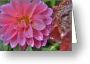 Mountainous Greeting Cards - Dahlia Emmily Greeting Card by Alexander Rozinov