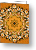 Cheering Greeting Cards - Daisy Chain Greeting Card by Kristin Elmquist