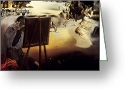 Easel Greeting Cards - Dali: Africa, 1938 Greeting Card by Granger
