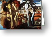Metamorphosis Greeting Cards - Dali Narcissus 1934 Greeting Card by Granger
