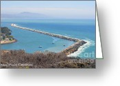 Dana Point Greeting Cards - Dana Point California 9-1-12 Greeting Card by Clayton Bruster
