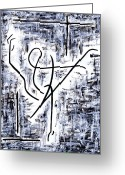 Classical Music Art Greeting Cards - Dance Class Greeting Card by Kamil Swiatek