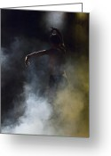 Andalucia Greeting Cards - Dancer through the Mist Greeting Card by Kenton Smith