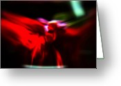 Seraph Greeting Cards - Dancing Angels Greeting Card by Scott  Wyatt