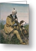 Daniel Greeting Cards - Daniel Boone (1734-1820) Greeting Card by Granger