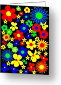 Asbjorn Lonvig Greeting Cards - Danish Flowers - Flora Danica Greeting Card by Asbjorn Lonvig