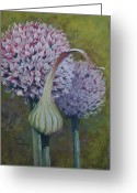 Flower. Petals Pastels Greeting Cards - Daring and Demure Greeting Card by Debbie Harding