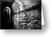 Photgraphy Greeting Cards - Dark Recess Greeting Card by Skip Hunt