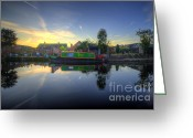 Sunset Framed Prints Greeting Cards - Daves Pride Greeting Card by Yhun Suarez