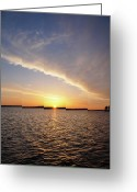 Morn Greeting Cards - Dawn Greeting Card by Bill Cannon