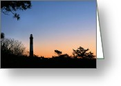 Fire Houses Greeting Cards - Dawn Breaks Greeting Card by JC Findley