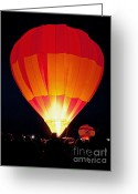 Albuquerque Greeting Cards - Dawn Patrol Balloon Fiesta Greeting Card by Jim Chamberlain