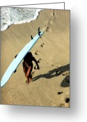 Dj Florek Greeting Cards - Dawn Patrol Greeting Card by DJ Florek