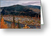 Klondike Greeting Cards - Dawson City - Yukon Greeting Card by Juergen Weiss