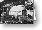 Dawson City Greeting Cards - DAWSON CITY, c1900 Greeting Card by Granger