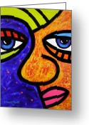 Multi Color Greeting Cards - Day Dreaming Greeting Card by Steven Scott