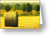 Landscape Framed Print Greeting Cards - Day Is Done Greeting Card by Joe JAKE Pratt