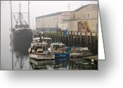 Pier Greeting Cards - Day Off Greeting Card by Bob Orsillo