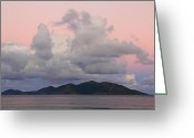 Van Dyke Greeting Cards - Daybreak Sky Greeting Card by Roupen  Baker