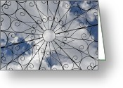 Daydream Greeting Cards - Daydream - trellis to the sky Greeting Card by Sabin Donohoe