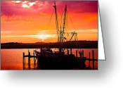 Bonnes Eyes Fine Art Photography Greeting Cards - Days End Greeting Card by Bonnes Eyes Fine Art Photography