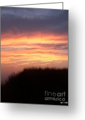 Glenn Mccurdy Greeting Cards - Days End Greeting Card by Glenn McCurdy
