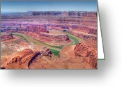 Point State Park Greeting Cards - Dead Horse Point Greeting Card by Ken Smith