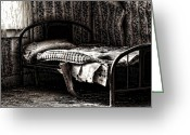 Sex Framed Prints Prints Greeting Cards - Dead Sleep Greeting Card by Jerry Cordeiro