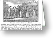 Schoolgirl Photo Greeting Cards - Deaf And Dumb School, 1842 Greeting Card by Granger