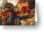 Rust Greeting Cards - Deal With It  Greeting Card by Michel  Keck