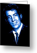 Frank Sinatra Greeting Cards - Dean Martin Greeting Card by Dean Caminiti