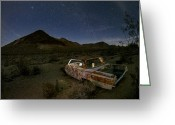 Nevada Greeting Cards - Death Valley Drive-In Greeting Card by Sean Foster