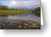 Natures Beauty Greeting Cards - Deceptive Calm Greeting Card by Idaho Scenic Images Linda Lantzy