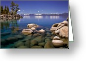 Water Reflections Greeting Cards - Deep Looks Greeting Card by Vance Fox