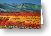 Rio Grande Greeting Cards - Deep Shadows Greeting Card by Johnathan Harris