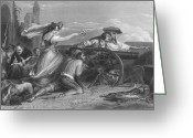 Peninsular Greeting Cards - Defense Of Saragossa, 1808 Greeting Card by Granger