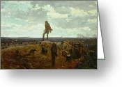 Daredevil Greeting Cards - Defiance - Inviting a Shot Before Petersburg Greeting Card by Winslow Homer