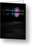 Fair Greeting Cards - Del Mar Fair Greeting Card by Sean Foster