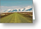 Dawson City Greeting Cards - Dempster Highway - Yukon Greeting Card by Juergen Weiss