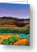Southwest Greeting Cards - Desert Gorge Greeting Card by Johnathan Harris